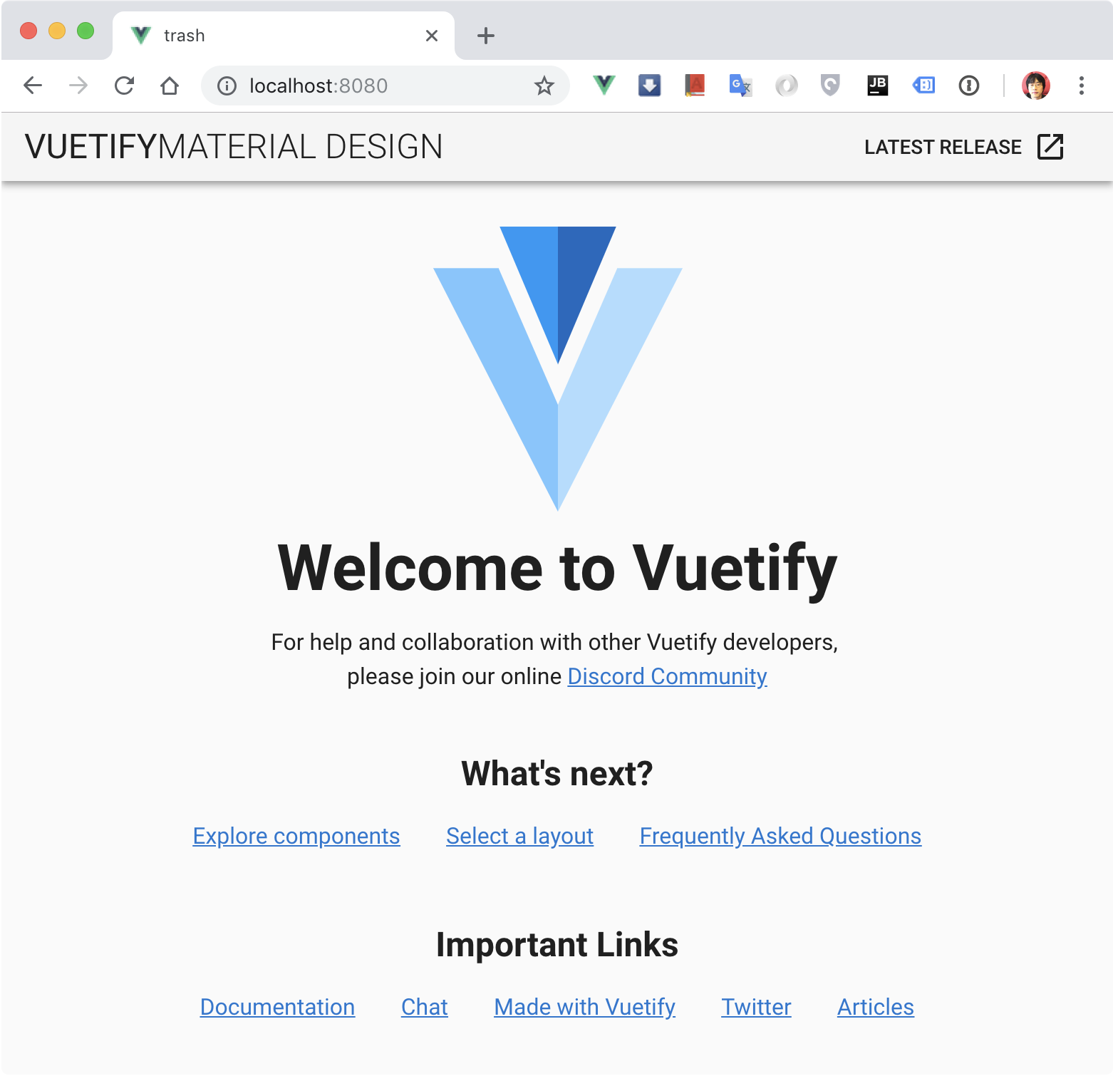alt new vuetify
